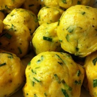 Krem Peynirli Patates Toplari