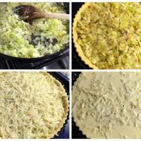 Pirasali ve Gravyer Peynirli Kis