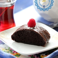 Glutensiz Çikolatalı Kek- Hindistan Cevizi Unu ile
