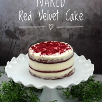 Naked Kırmızı Kadife Pasta